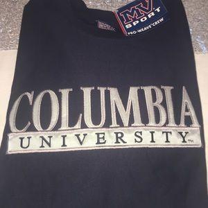 MV Sport Columbia Crewneck Navy Sweatshirt L